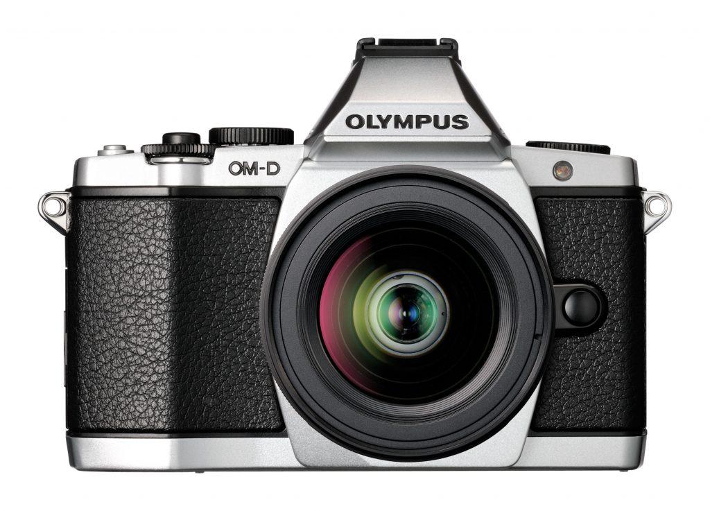 Privire din față Olympus OM-D
