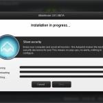 Fereastra de instalare a Bitdefender 2013 BETA