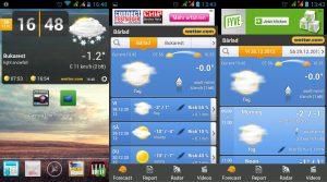 aplicatii meteo - Wetter Android App