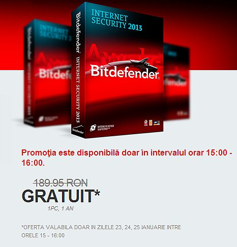Bitdefender Internet Security 2013 moca