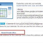 Exportă calendar prin fișier ical sau link în Calendar Settings