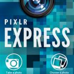 Pixlr Express - Primul ecran