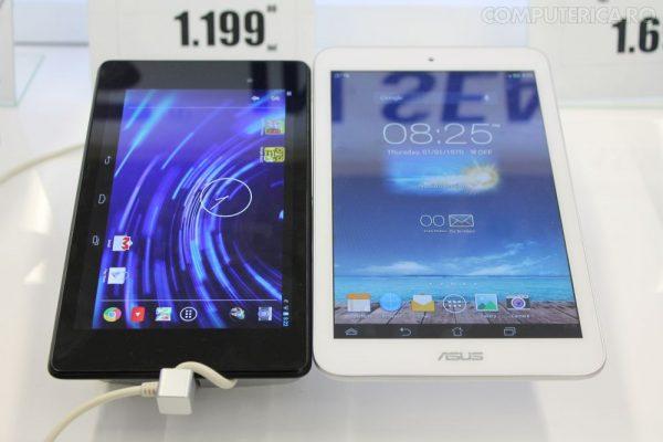 Memopad 8 vs Nexus 7II