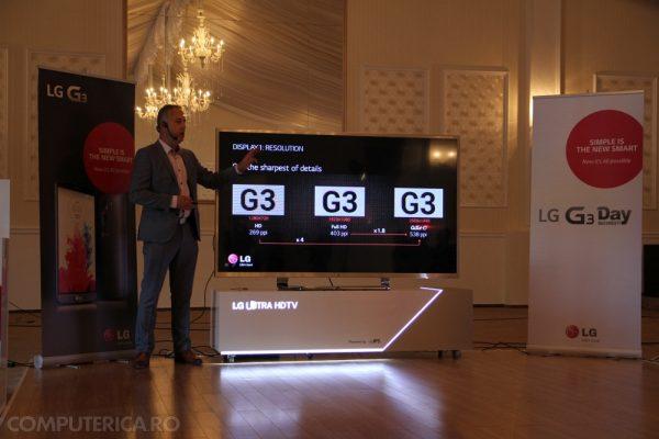 LG G3 Display Presentare