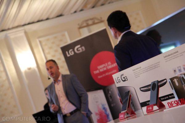 Prezentatori lansare LG G3