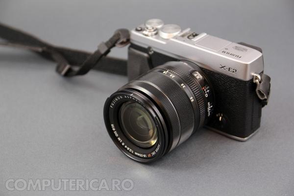 Fuji X E 2 front