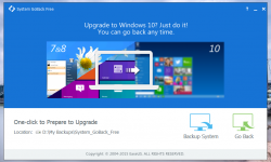 Downgrade de la Windows 10 cu EaseUS System Goback Free