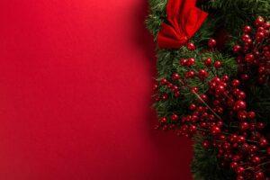 wallpaper de Crăciun cu decoratiune brad