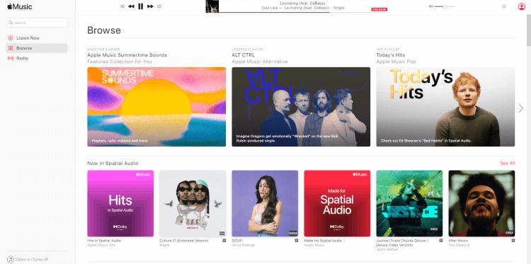 Streaming Muzică Online cu Apple Music